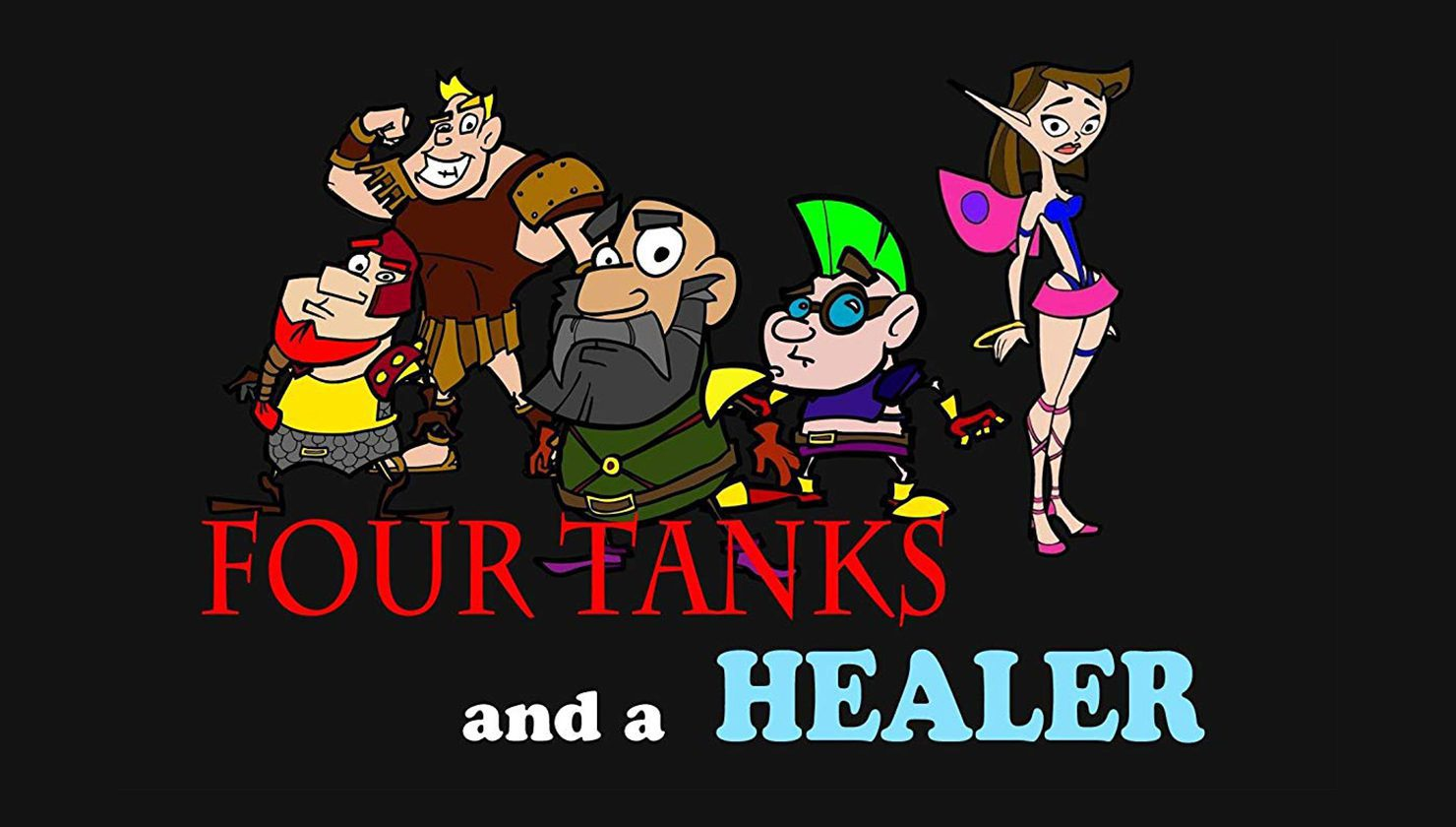 Four tanks and a healer